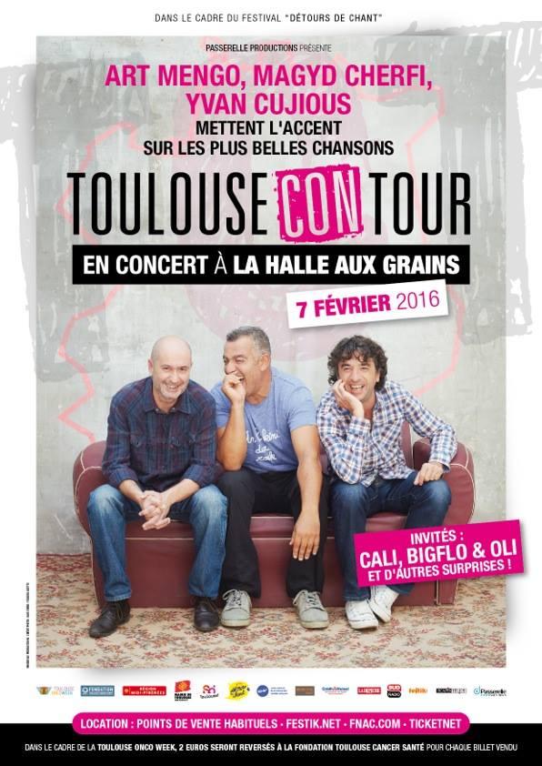 Toulouse con tour avec Cali