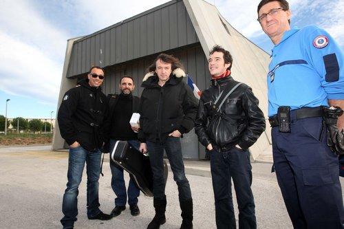 Cali en concert dans la prison de Toulon en 2011