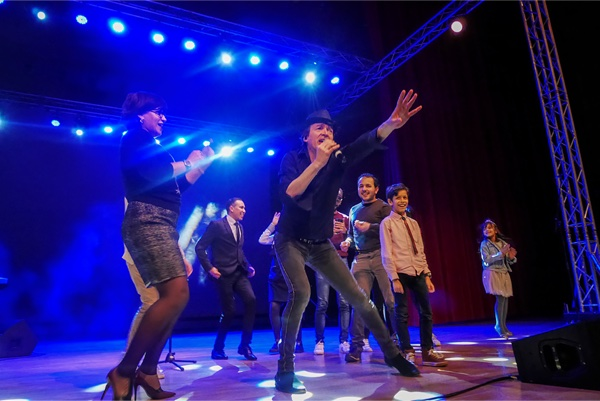 cali en concert à Oran Algérie mars 2018
