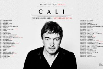 Les dates de la tournée 2021-2022 de Cali